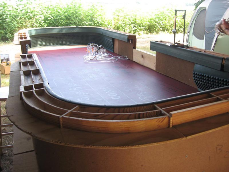 used craps tables
